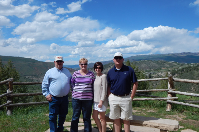Family Vacation in the Mountains of Colorado