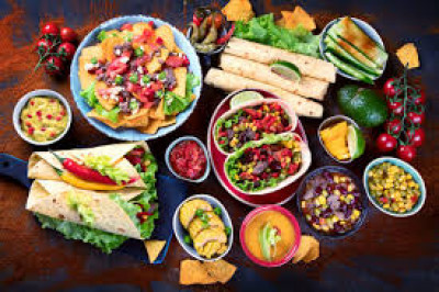Family favorite- Tex Mex food! Anytime, anywhere! Plus queso!