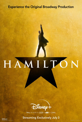 Hamilton! Such a great and powerful musical. We watched it on Disney+ for the first time this summer.