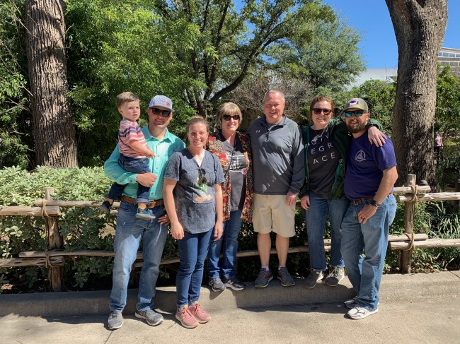 Family trip to the Fort Worth  Zoo.