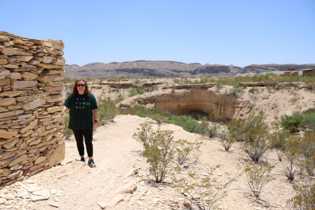 The Ghost Town of Terlingua, TX. Walking around this old town that holds history was amazing. I loved learning and seeing everything it had to offer