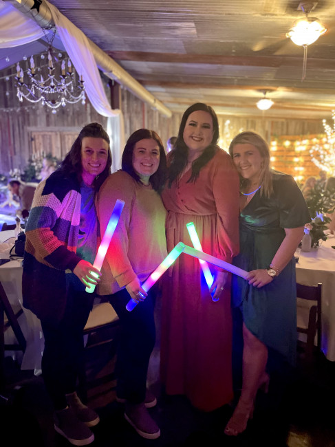 The glow sticks were not only a hit at the wedding for the young kids but all the adults loved them too!