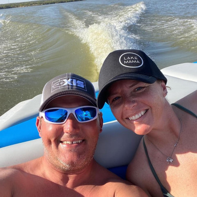 We love boating!
