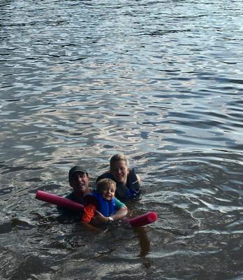 A fun trip to the lake