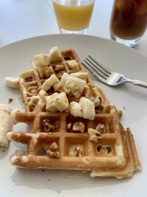 Lazy weekend breakfast is the best!
