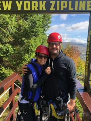 We love adventurous things, like Zip Lining!