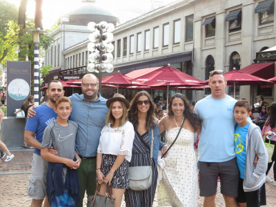 A trip to Boston with Joann's family!