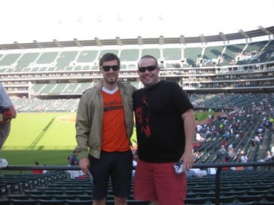 I love baseball!  This is from a cross country road trip I took with buddies to different baseball stadiums.