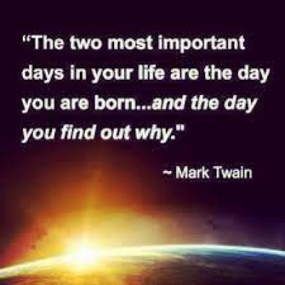 Greg's favorite quote by Mark Twain