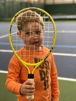 We enjoy playing and watching tennis!