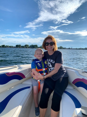 We absolutely love boating and being on the water. This is our forever hometown!